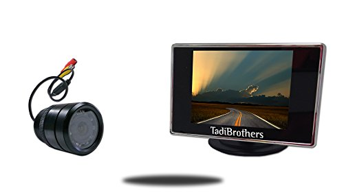 Tadibrothers 4.3 Inch Monitor with 150 Degree Bumper Backup Camera (RV or Car Backup System) Review