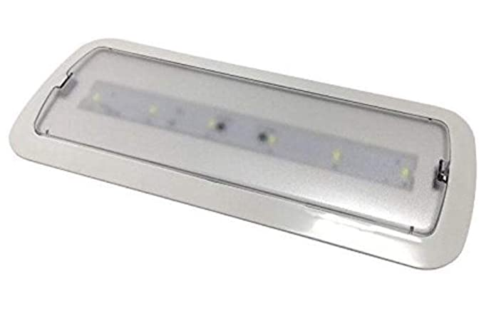 LA) Luz de Emergencia LED empotrable o superficie 3W, Bateria ...