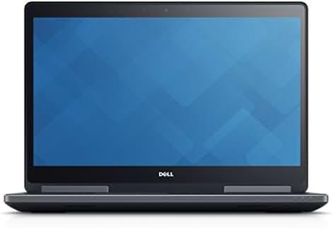 DELL PRECISION M7710 17.3 INCH UHD 3840x2160 I7-6820HQ 64GB 2TB HDD QUADRO M4000M 4GB WIN 10 PRO (Certified Refurbished)