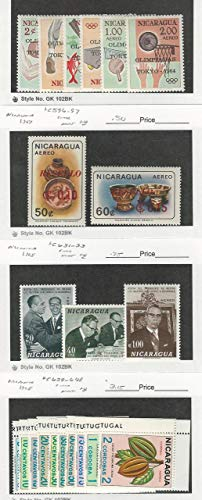 Nicaragua, Postage Stamp, C553-8, C596-7, C631-3, C639-48 for sale  Delivered anywhere in USA