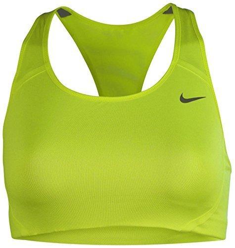 Nike Women's Dri-Fit Victory High Support Training Bra-Volt-Small