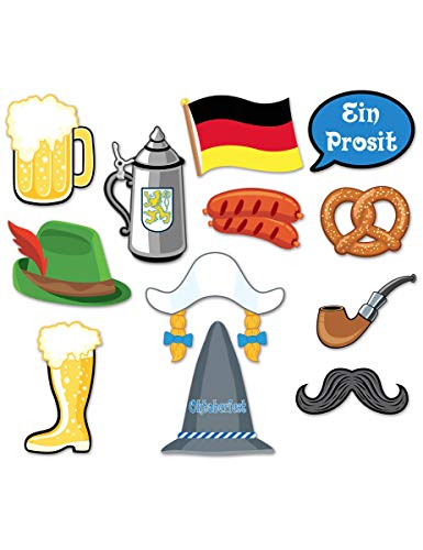 Oktoberfest Photo Booth Prop Kit -