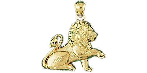 14k Yellow Gold Lion Pendant 14k Yellow Gold Lion Pendant