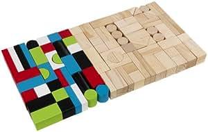 KidKraft - Juego de bloques de madera (63242)