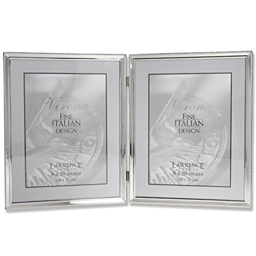 Lawrence Frames 11680D Lawrence Frames Polished Silver Plate