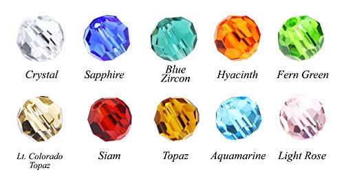 Indicolite Austrian Crystal - 8