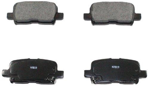 DuraGo BP865 MS Rear Semi-Metallic Brake Pad ()