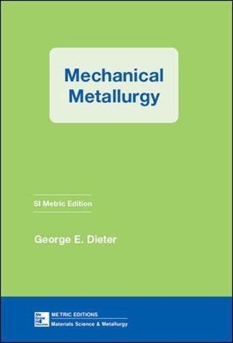 Mechanical Metallurgy (Materials Science & Engineering)