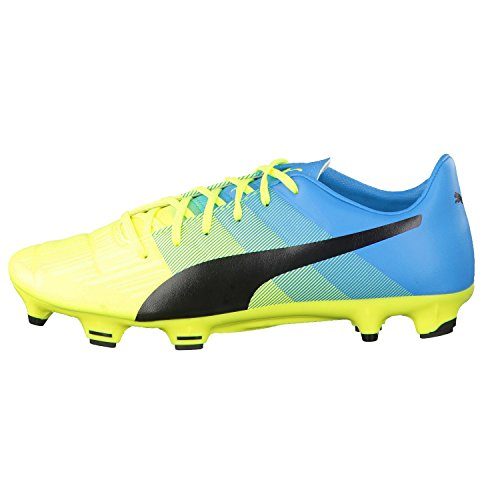 yellow black blue Evopower Compétition Football Chaussures 3 3 safety atomic Homme de Puma FG UqwvPP