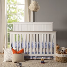 Davinci Perse 4-in-1 Crib Full Size Conversion Kit Bed Rails - White by Grow-with-Me Crib Conversion Kits (Image #2)