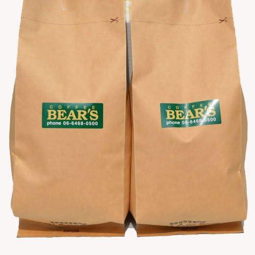 bears coffee エスプレッソコーヒー 400g 豆のまま イタリア北部ブレンド