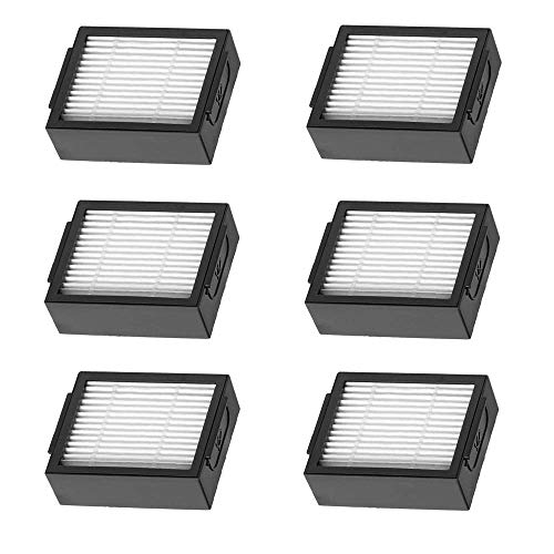 Replacement Filters Compatible with i7 iRobot Roomba i7+ E5 E6 Vacuum Cleaner Accessories,6 Pack