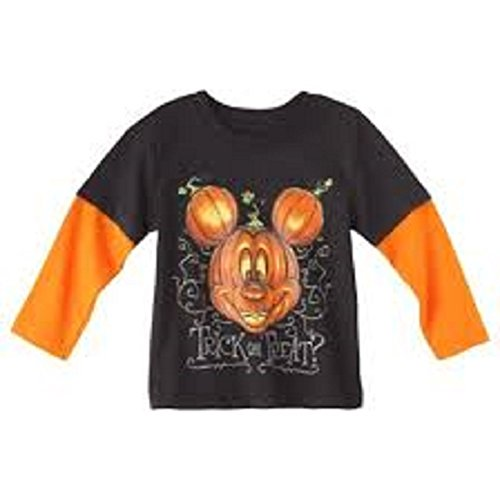 Mickey Mouse Halloweeen Trick or Treat Toddler T-shirt (12 (Halloweeen City)