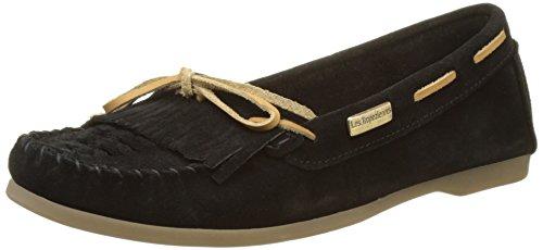 Loafers Women's Noir Black Perou 546 SH6wBUXW