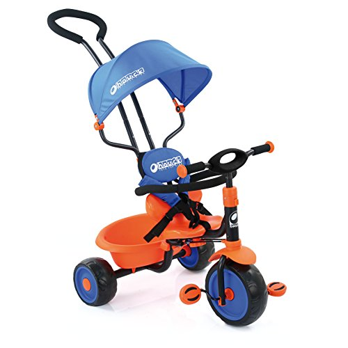 Hauck Explorer Tricycle, Royal Blue/Orange for sale  Delivered anywhere in USA