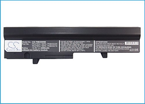 Cameron Sino 2200mAh Li-ion High-Capacity Replacement Batteries for Toshiba Satellite NB300 , fits Toshiba PA3783U-1BRS, PA3785U-1BRS by Cameron Sino (Image #5)