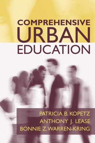 Read Online Comprehensive Urban Education: 1st (First) Edition PDF