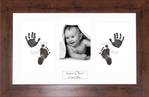 Anika-Baby BabyRice Baby Hand and Footprints Kit includes Black ...