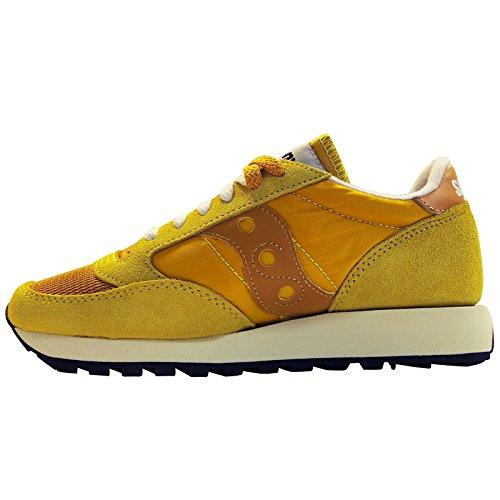 Saucony Womens Jazz Original Vintage S60368-29 Sun Suede Trainers 9 US by Saucony (Image #3)