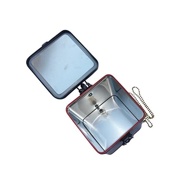 SteAMPunk travel Nautical Steampunk purse BOX handmade 5