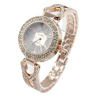 VV Online Soko para mujer Fashion Bohemian de cuarzo analógico reloj de pulsera, de oro