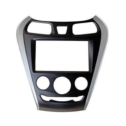 FEELDO Car 2Din DVD Radio Fascia Frame for Hyundai EON 2011+ Installation Trim Dash Kit Frame Panel Adapter