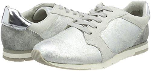 Gris grey Basses Comb Femme 23617 Sneakers Tamaris SWF84IPq
