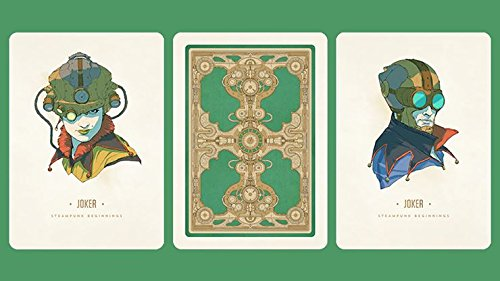Steampunk Beginnings Playing Cards 4