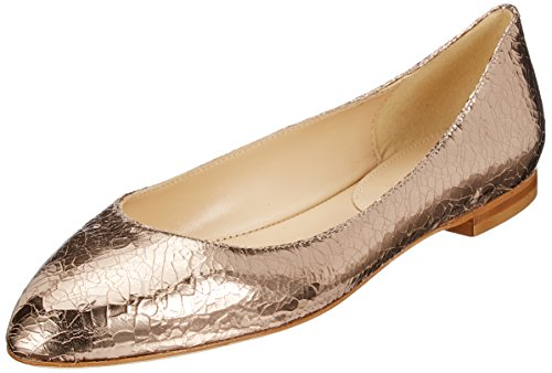 Orange Toe Flats Ballet Closed 60 Rusconi WoMen Rame Schaftballerinas Fabio Iw01Rn