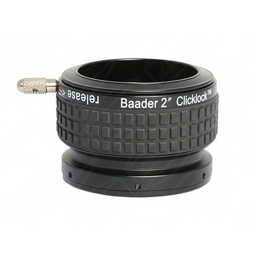 Baader 2'' SCT Click-Lock Eyepiece Adapter / Visual Back (with 2'' SCT Thread) # CLSC-2 2956220 by Hayneedle