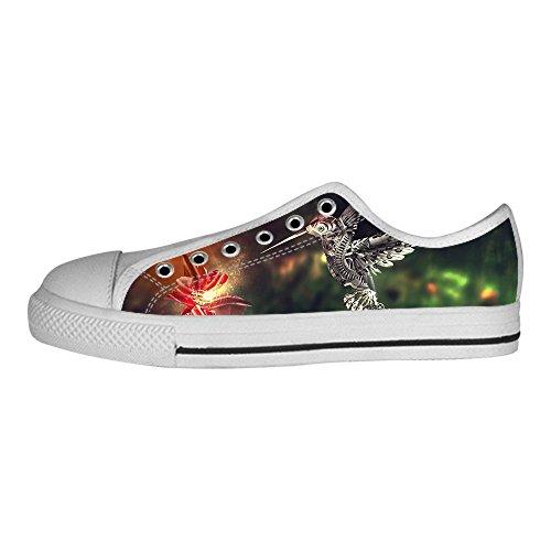 Custom Hummingbird Womens Canvas shoes I lacci delle scarpe scarpe scarpe da ginnastica Alto tetto Envío Libre Disfrutar gzu98xj