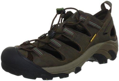 KEEN Men's Arroyo II Hiking Sandal,Slate Black/Bronze Green,11 M US