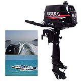 HANGKAI 6HP 2 Stroke Heavy Duty Outboard Motor Boat