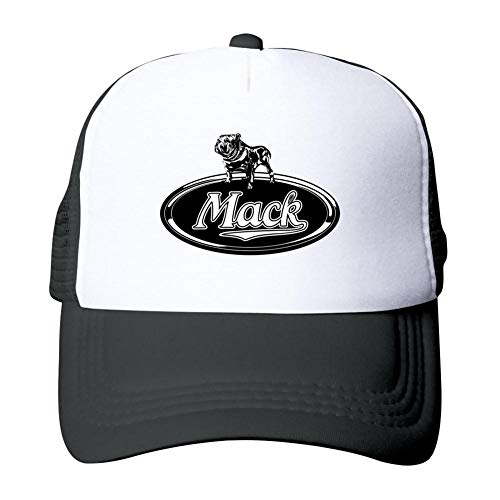 Adult Classic Cool Mack Car Logo Printed Basketball Mesh Hats Sport Trucker Snapback Cap