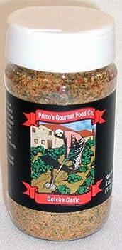 "Primo's Gourmet Food -""Gotcha Garlic"" spice mix"