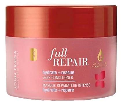John Frieda Full Repair máscara reparadora intensa hidratación + reparación para cabello dañado 250 ml –