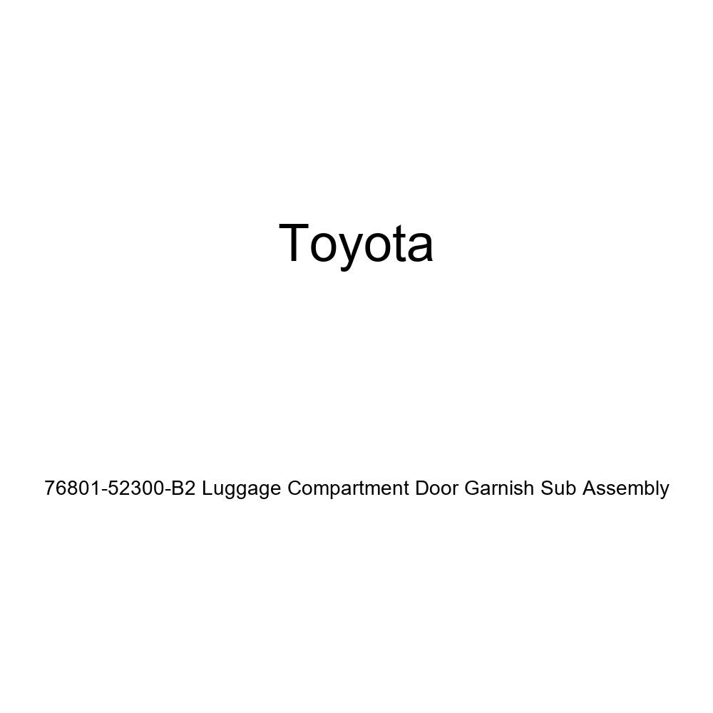 Genuine Toyota 76801-52300-C0 Luggage Compartment Door Garnish Sub Assembly
