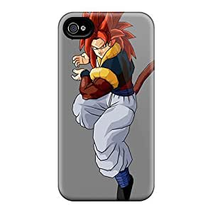 New Cute Funny Tails Dragon Ball Z Gogeta Case Cover/ iPhone 5 5s Case Cover