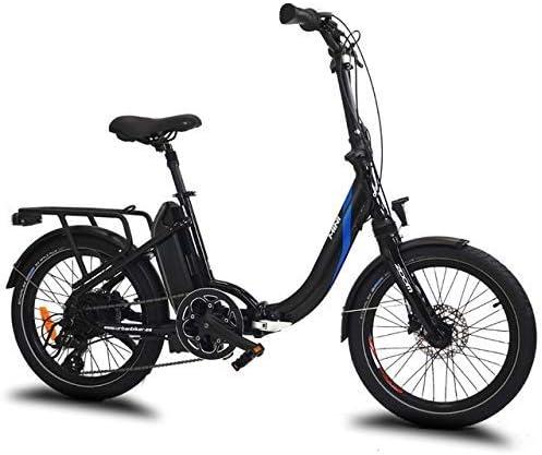 URBANBIKER Bicicleta eléctrica Plegable Mini, con batería de 36v y ...