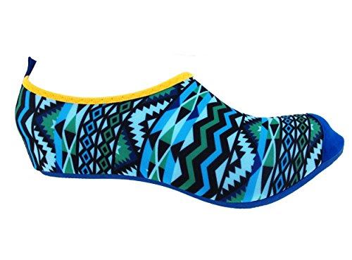 Bamboomn Ultra Leggero Dinamico Flessibile Attivo Sport Acquatici Aqua Running Scarpe Da Spiaggia Blu Acqua
