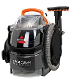 "Bissell 3624C SpotClean Professional Portable Carpet Cleaner – 22' Cord - Large Capacity with 3-in-1 Stair Tool and 3"" Stain Tool and 8oz Trial Sized Professional Formula, 5.8 AMP"