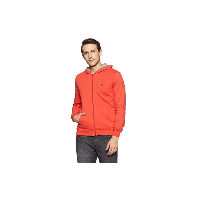 41V XGgoLzL. SS768  - Allen Solly Men's Sweatshirt