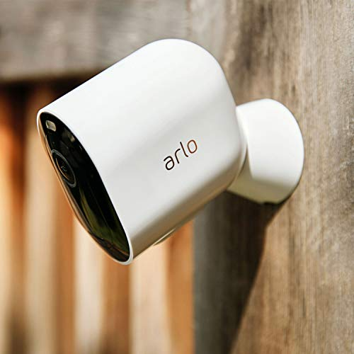 Arlo Pro 4 Spotlight Camera - 1 Pack - Wireless Security, 2K Video & HDR, Color Night Vision, 2 Way Audio, Wire-Free…