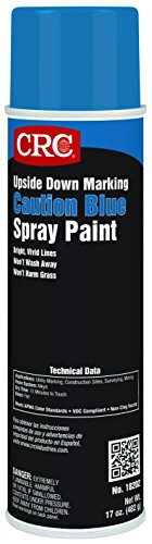 CRC Upside Down Marking Paints-Caution Blue, 17 Wt Oz