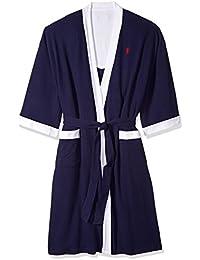 Men s Waffle-Weave Kimono Robe 477a57ab6