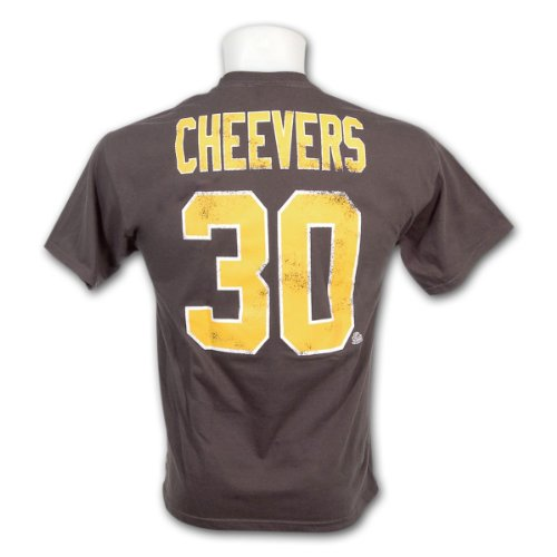 GERRY Cheevers # 30 Alumni OTH Boston Bruins Hockey su ghiaccio NHL maglietta