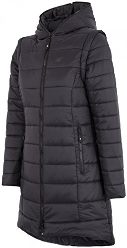 DWR Hooded Womens Ladies BLACK system Jacket H4Z17 KUD008 overcoat Coat 4F Spq8wY8