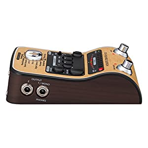 Zoom-AC-2-Acoustic-Guitar-Effect-Pedal-Brown