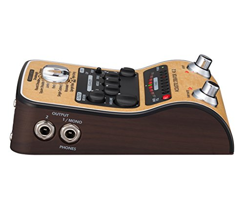Zoom AC-2 Acoustic Guitar Effect Pedal 2