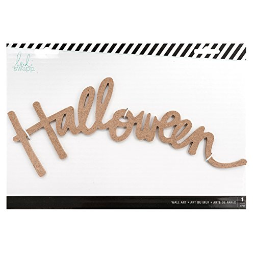 Heidi Swapp 314348 Halloween Wall Word, Multi -